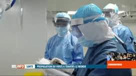 RTL INFO 19H : Coronavirus chinois: l'OMS de plus en plus inquiète