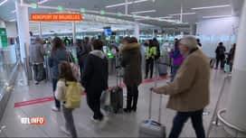 RTL INFO 19H : Des retards à Brussels Airport en raison de la grève du zèle des po...