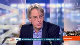 RTL INFO 19H : Coronavirus: le professeur Herman Goossens est invité sur le plateau