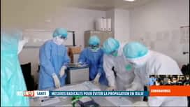 RTL INFO 19H : La propagation du coronavirus inquiète le monde