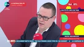La matinale Bel RTL : Raoul Hedebouw, porte-parole du PTB