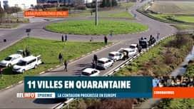 RTL INFO 19H : Coronavirus en Italie: décès de 6 victimes et plus de 200 cas positifs
