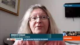 RTL INFO 19H : Coronavirus en Italie: témoignage d'une Belge bloquée à Venise