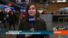RTL INFO 19H : Coronavirus en Italie: l'aéroport de Charleroi est passé en phase 2