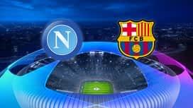 Champions League : 25/02 : Naples - FC Barcelone (les buts)