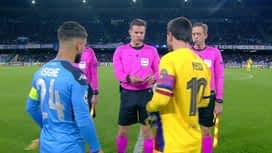 Champions League : Naples - FC Barcelone : 1ère mi-temps