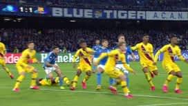 Champions League : Naples - FC Barcelone : 2ème mi-temps