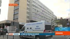 RTL INFO 19H : Coronavirus: premier décès lié au covid-19 à Paris, en France