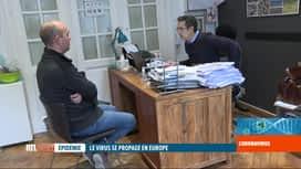 RTL INFO 19H : Coronavirus: certains médecins généralistes sont dépassés
