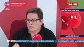La matinale Bel RTL : Laurence Hennuy, Députée fédérale Ecolo
