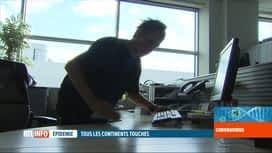 RTL INFO 19H : Coronavirus: les entreprises belges commencent à prendre des mesures