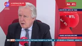 La matinale Bel RTL : Daniel Bacquelaine (MR), Ministre fédéral des Pensions et médecin