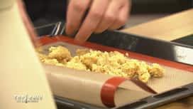 Top Chef : Crumble salé aux noix