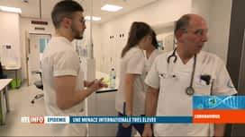 RTL INFO 19H : Coronavirus: les hôpitaux belges se préparent à faire face à l'épid...