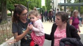 Mamans et célèbres : Mamy vient cherche Luna à l'école