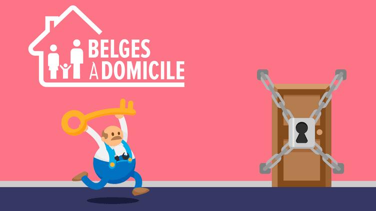 Belges à domicile