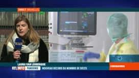 RTL INFO 13H : Coronavirus: 69 décès supplémentaires et 1.049 nouveaux cas positifs