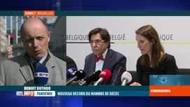RTL INFO 13H : Coronavirus: que va décider le conseil national de sécurité ?
