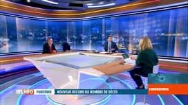 RTL INFO 13H : Yves Van Laethem et Dominique Demoulin évoquent es dernières mesure...