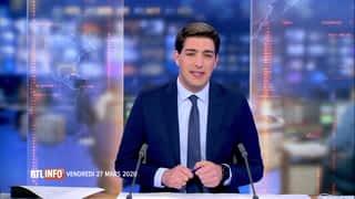 RTL INFO 13H : RTL INFO 13 heures (27/03/20)