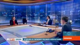 RTL INFO 19H : Yves Van Laethem et Simon Dellicour analysent les décisions du CNS