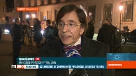 RTL INFO 19H : Coronavirus: Elio Di Rupo rappelle quelques mesures essentielles à ...