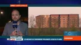 RTL INFO 19H : Le coronavirus fait monter la tension à la prison de Lantin