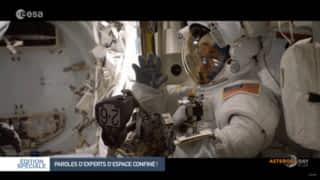 Les conseils d'astronautes pour un confinement plus facile !