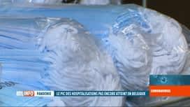 RTL INFO 13H : La Belgique a reçu plus de 16 millions de masques en une semaine