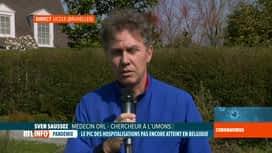 RTL INFO 13H : Coronavirus: Sven Saussez nous éclaire sur le symptôme de l'anosmie