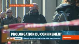 RTL INFO 13H : Comment les Bruxellois réagissent-il à la prolongation du...