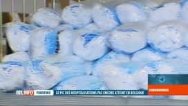 RTL INFO 19H : La Belgique a reçu plus de 16 millions de masques en une semaine
