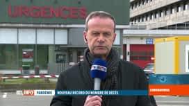 RTL INFO 13H : Coronavirus: Emmanuel Dupond est en direct du centre de crise