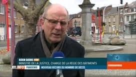RTL INFO 13H : Coronavirus : le gouvernement tente de désengorger les prisons