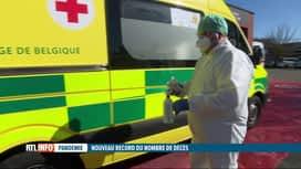 RTL INFO 13H : Coronavirus: nous n'avons toujours pas assez de matériel de protection