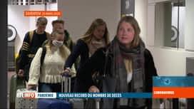 RTL INFO 13H : Coronavirus : les rapatriements de Belges se poursuivent