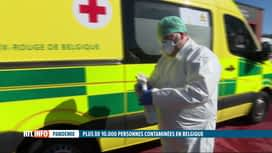 RTL INFO 19H : Coronavirus: nous n'avons toujours pas assez de matériel de protection