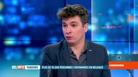 RTL INFO 19H : Coronavirus: Yves Van Laethem et Simon Dellicour font le point