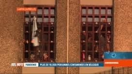 RTL INFO 19H : Coronavirus : le gouvernement tente de désengorger les prisons