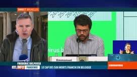 RTL INFO 13H : Coronavirus en Belgique: la décroissance de cas n'est pas encore là