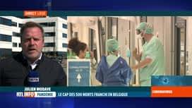 RTL INFO 13H : Coronavirus en Belgique: les hôpitaux liégeois fortement sollicités