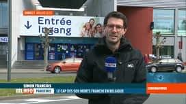 RTL INFO 13H : Coronavirus en Belgique: le point sur la situation dans les superma...