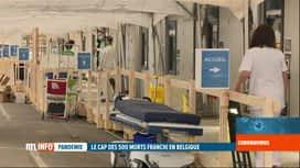 RTL INFO 19H : Coronavirus en Belgique: situation des hôpitaux, province par province