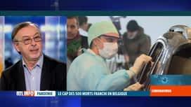 RTL INFO 19H : Coronavirus en Belgique: analyse avec Yves Van Laethem