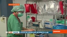 RTL INFO 13H : Coronavirus en Belgique: les hôpitaux bruxellois proches de la satu...