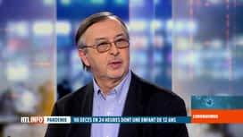 RTL INFO 13H : Coronavirus en Belgique: Yves Van Laethem revient sur le décès d'un...