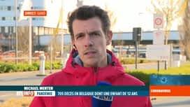 RTL INFO 19H : Coronavirus en Belgique: le Covid-19 a emporté une adolescente de...