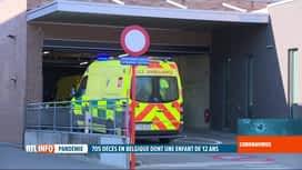 RTL INFO 19H : Coronavirus en Belgique: une cellule à l'école de l'ado décédée à Gand