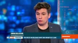 RTL INFO 19H : Coronavirus en Belgique: nos 2 experts évoquent le décès d'une enfa...