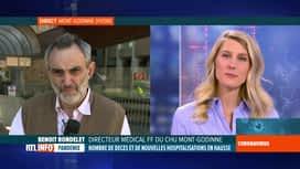 RTL INFO 13H : Coronavirus en Belgique: le point sur la situation au CHU Mont-Godinne